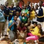 Ikipe y'igihugu ya Taekwondo yegukanye imidali 10  muri Chairman's Cup i Mombasa