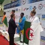 Africa Taekwondo Championship 2016: Ikipe y'igihugu ya Taekwondo yegukanye imidali 5 ya Bronze.