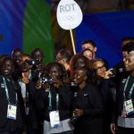 Olympic refugee team arrives in Rio 2016 athletes' village to rapturous welcome