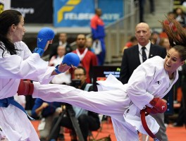 SUPRISES AND EMOTION ON FIRST DAY OF KARATE WORLD CHAMPIONSHIPS