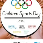 Children Sports Day 2016