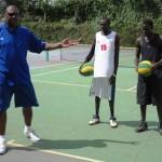 American Wright promises to improve Rwandan basketball