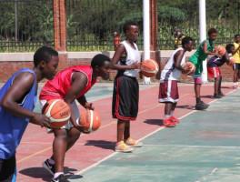Rwandan basketball on the way up, says Wright