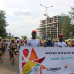 The Queen's Baton Relay Walk to inspire the Rwandan Sports movement.