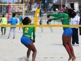 Rwanda women win gold: Qualify for Beach V-ball World Championships.