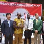 Rwanda dominated 2017 Korean Ambassador's Cup against 7 Regional Countries.