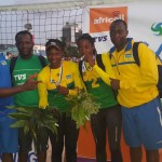 Beach V-ball duo qualify for 2018 Commonwealth Games.