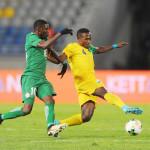 Rwanda hold Nigeria to a goalless draw.